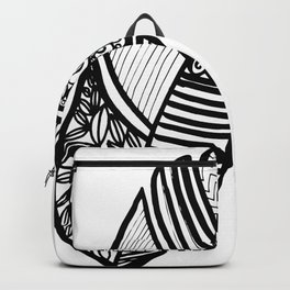 fine art feather Backpack