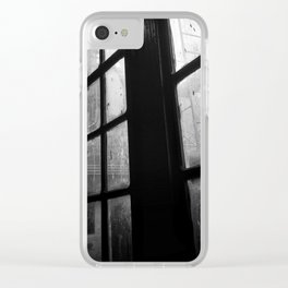 Through the Window Clear iPhone Case