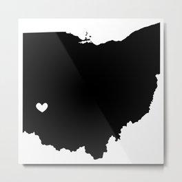Dayton, Ohio, Home Metal Print