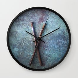Two Nails II Wall Clock