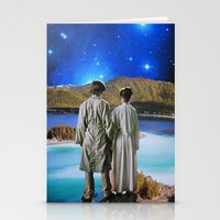 twins Stationery Cards featuring Twins by John Turck