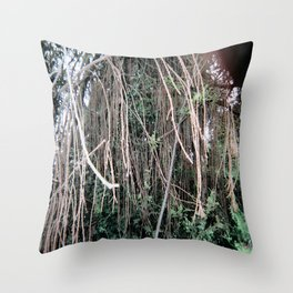 Trees of Finchley 2 Throw Pillow