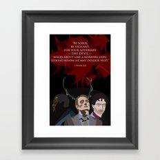 First Peter - Hannibal Fan Art Framed Art Print