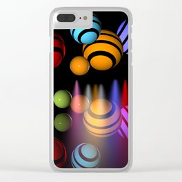 balls of light -2- Clear iPhone Case