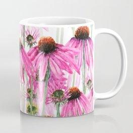 pink coneflower field Coffee Mug