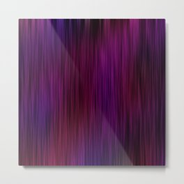 PurpleMotion Metal Print