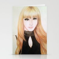 2ne1 Stationery Cards featuring Park Bom (2NE1) by Hileeery