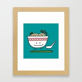 Happy Pho Framed Art Print