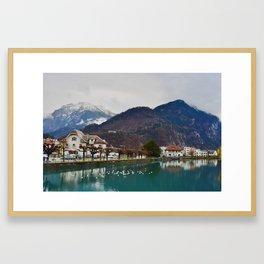 Interlaken Switzerland Framed Art Print