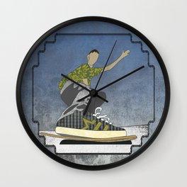 Skateboard 13 Wall Clock