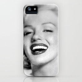 With Marylin iPhone Case