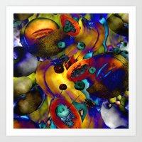 Ed Kerns : Fruit  Art Print