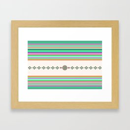BASQUE DESIGN Framed Art Print