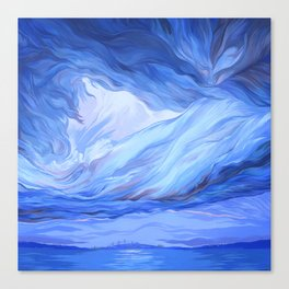 Clouds #8 Canvas Print