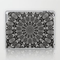Monochrome Mandala Laptop & iPad Skin