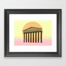 Rising culture Framed Art Print