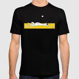 Lazy Sunbathing Cat T-shirt