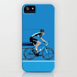 Bradley Wiggins Team Sky iPhone Case