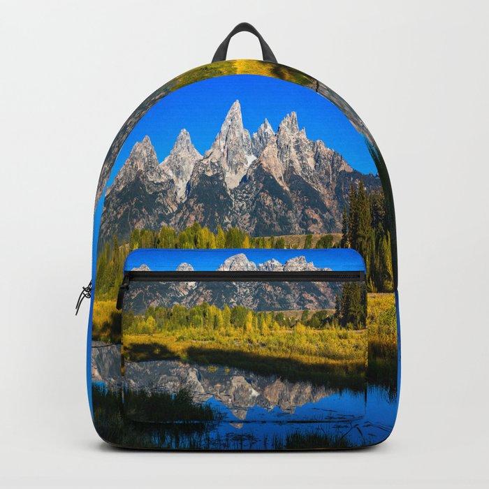 Grand Teton - Reflection at Schwabacher's Landing Backpack