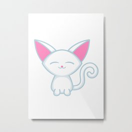 Adorable Kitty Kitten Metal Print