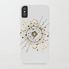 Complex Atom iPhone Case