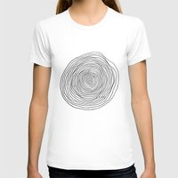 circles T-shirts featuring circles by Irma Ibric
