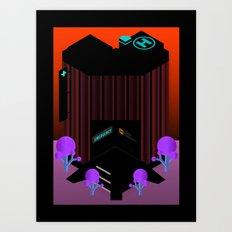 City Hospital Art Print