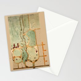 University Of Toronto 1859 Stationery Cards