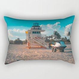 Miami Baywatch Rectangular Pillow