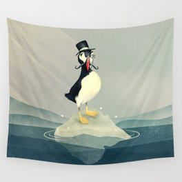 Lord Puffin Wall Tapestry