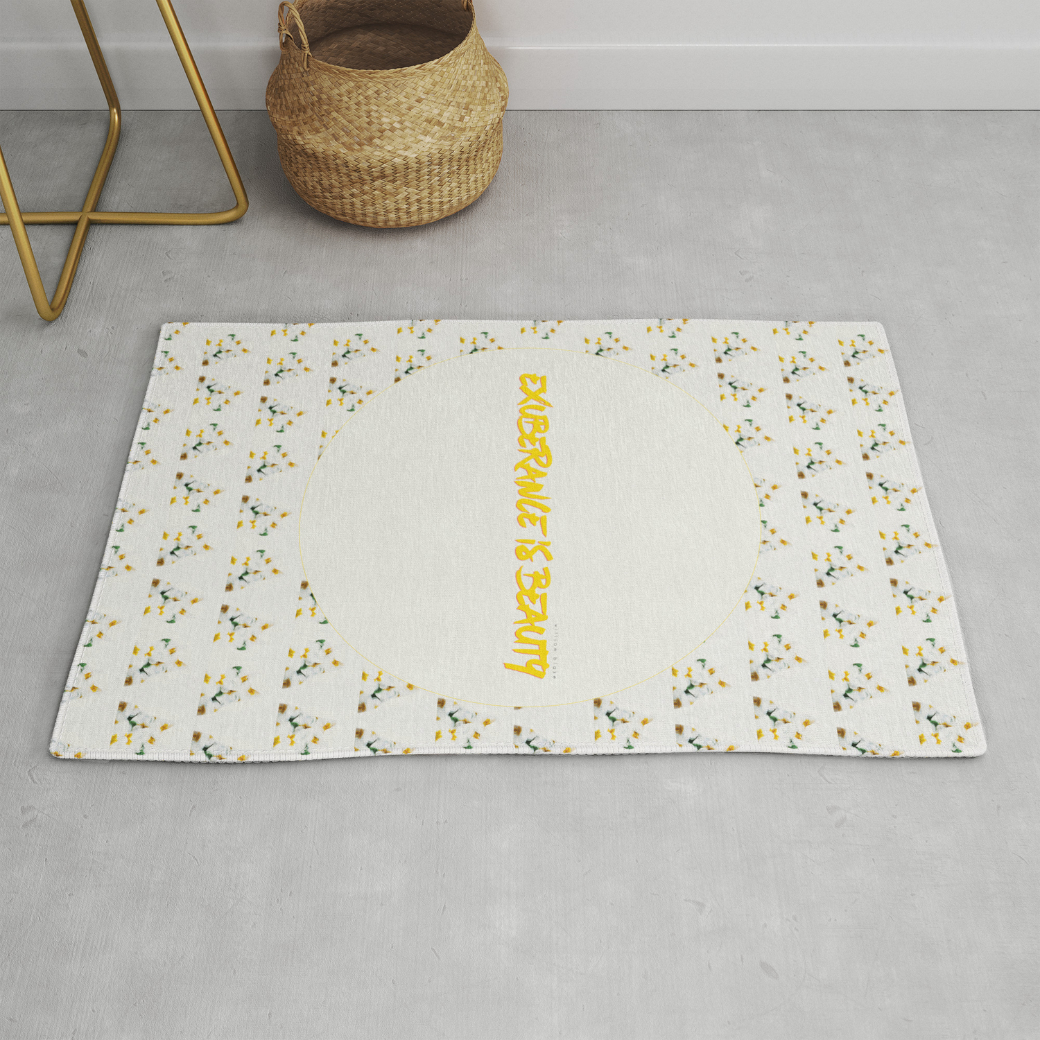 Exuberance Is Beauty Patterned Rug By