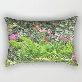 as in the garden of eden Rectangular Pillow