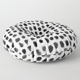 Watercolor Dots Floor Pillow