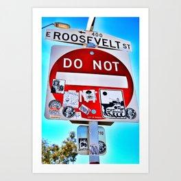 Roosevelt Art Print