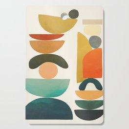 Modern Abstract Art 72 Cutting Board