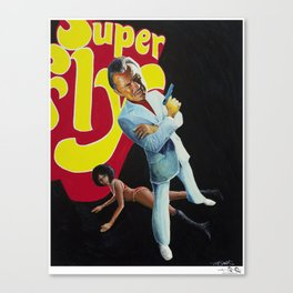 Supa Havey Canvas Print