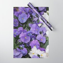 Violets Wrapping Paper