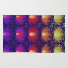 Variations on a Lotus I - Sparkle Brightly Rug