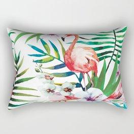 Tropical- Flamingo Rectangular Pillow