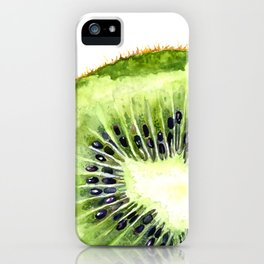 Kiwi Slice iPhone Case