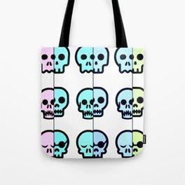 Pastel Goth | Pastel skulls | Pastel Gothic | Gothc skulls | Cute skulls Tote Bag