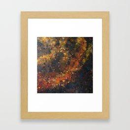 Negra Calidez Framed Art Print