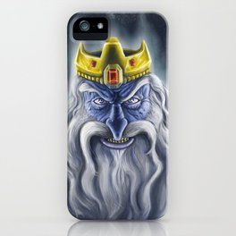Ice Crown iPhone Case