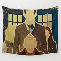 doctor Wall Tapestries featuring Day of the Doctor by Danny Haas