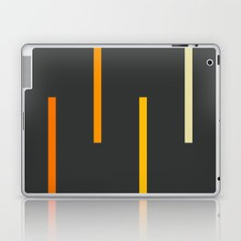 Abstract Minimal Retro Stripes Ashtanga Laptop & iPad Skin