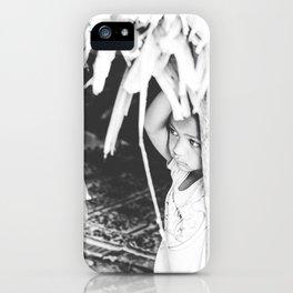 Orang Asli girl iPhone Case
