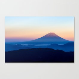 Mount Fuji Canvas Print