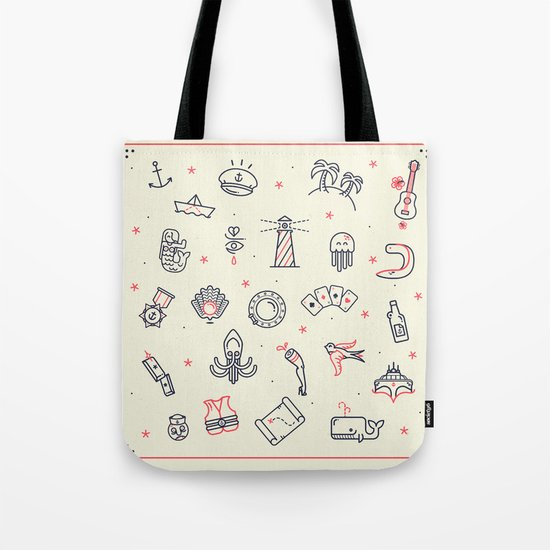 Ahoy! Icons Tote Bag