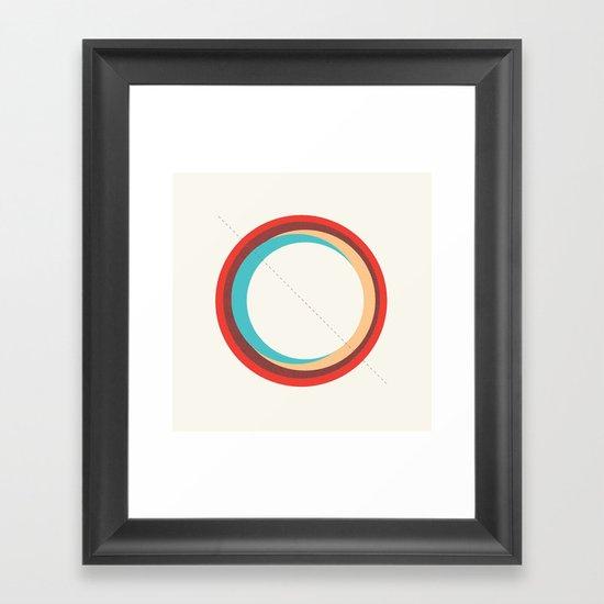 Future Globes 005 Framed Art Print