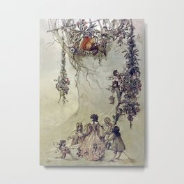 """The Fairies Ascent"" by A. Duncan Carse Metal Print"